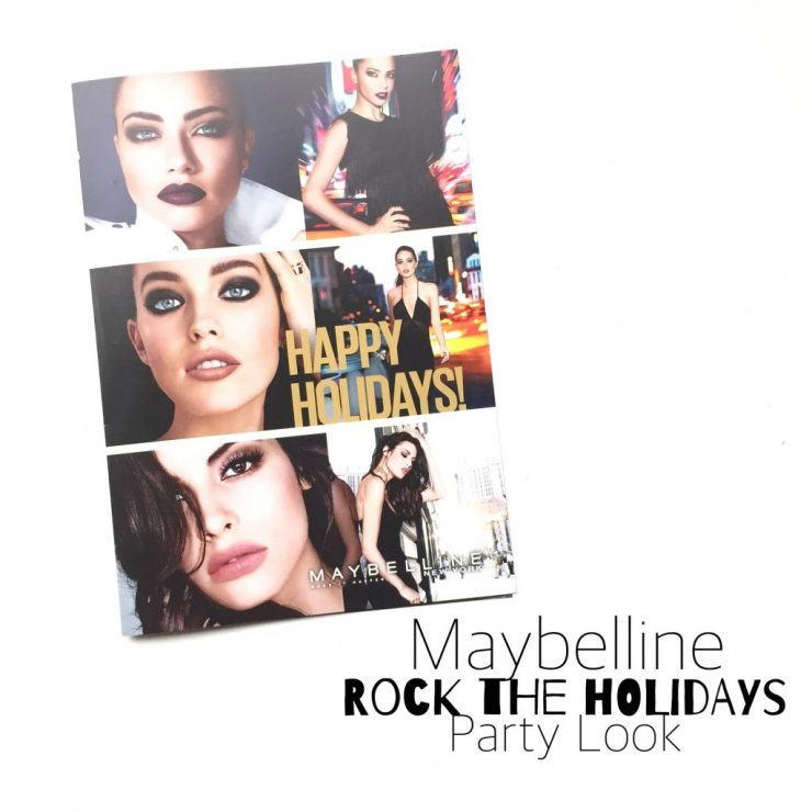 Maybelline Rock the Holidays Party Look