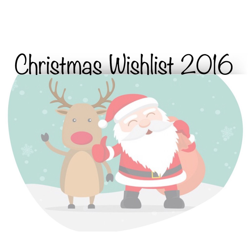 Christmas Wishlist 2016