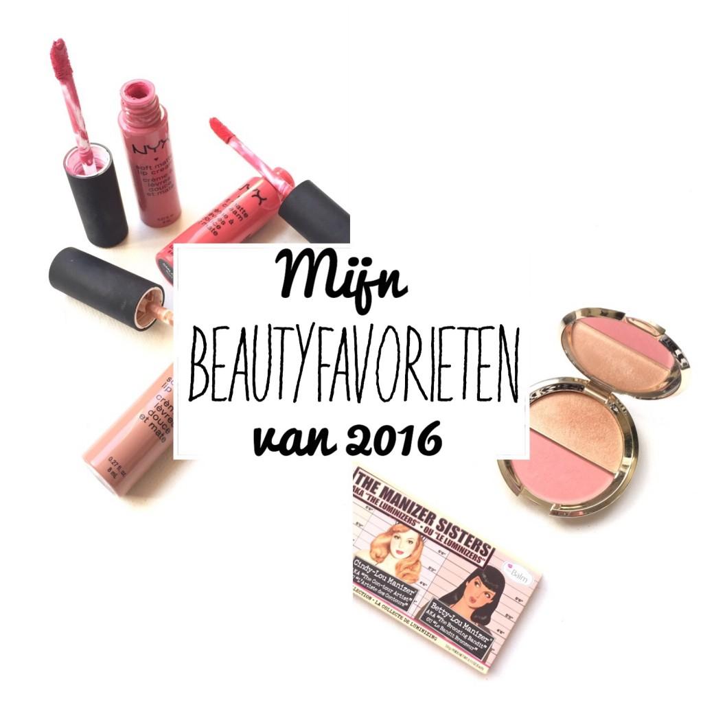 Mijn Beautyfavorieten van 2016