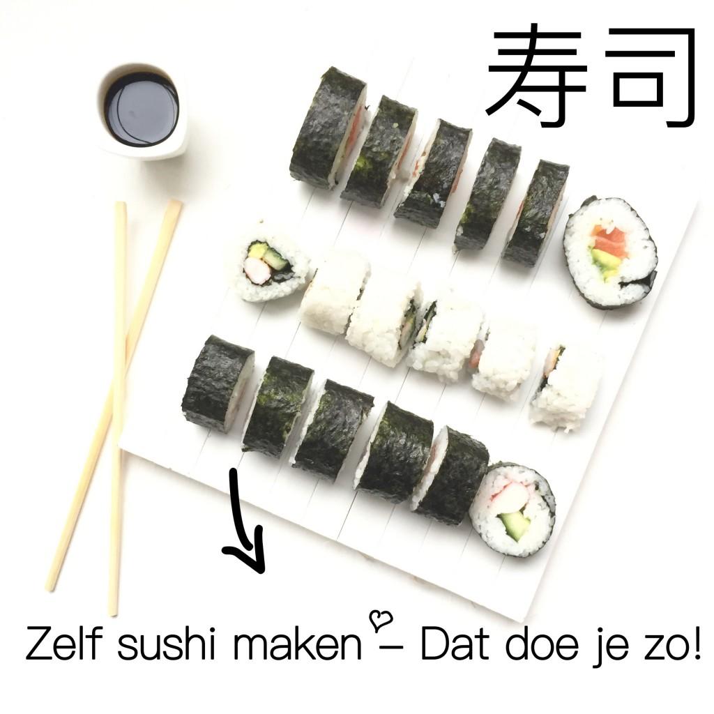 Zelf Sushi maken