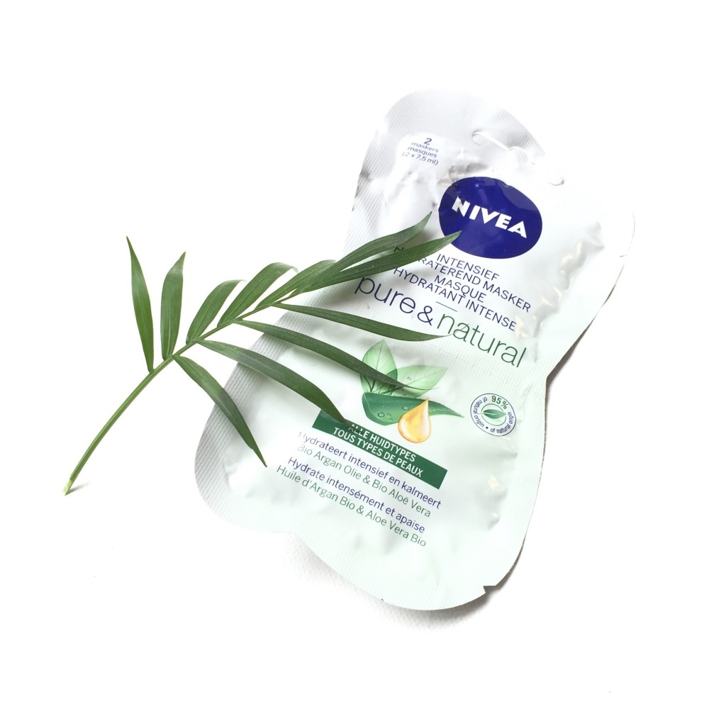 Nivea Pure & Natural Intensief Hydraterend Masker