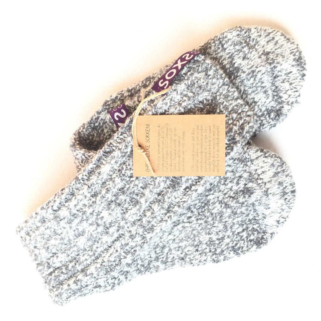 Hippe Wollen Anti-Slip Sokken van SOXS.CO