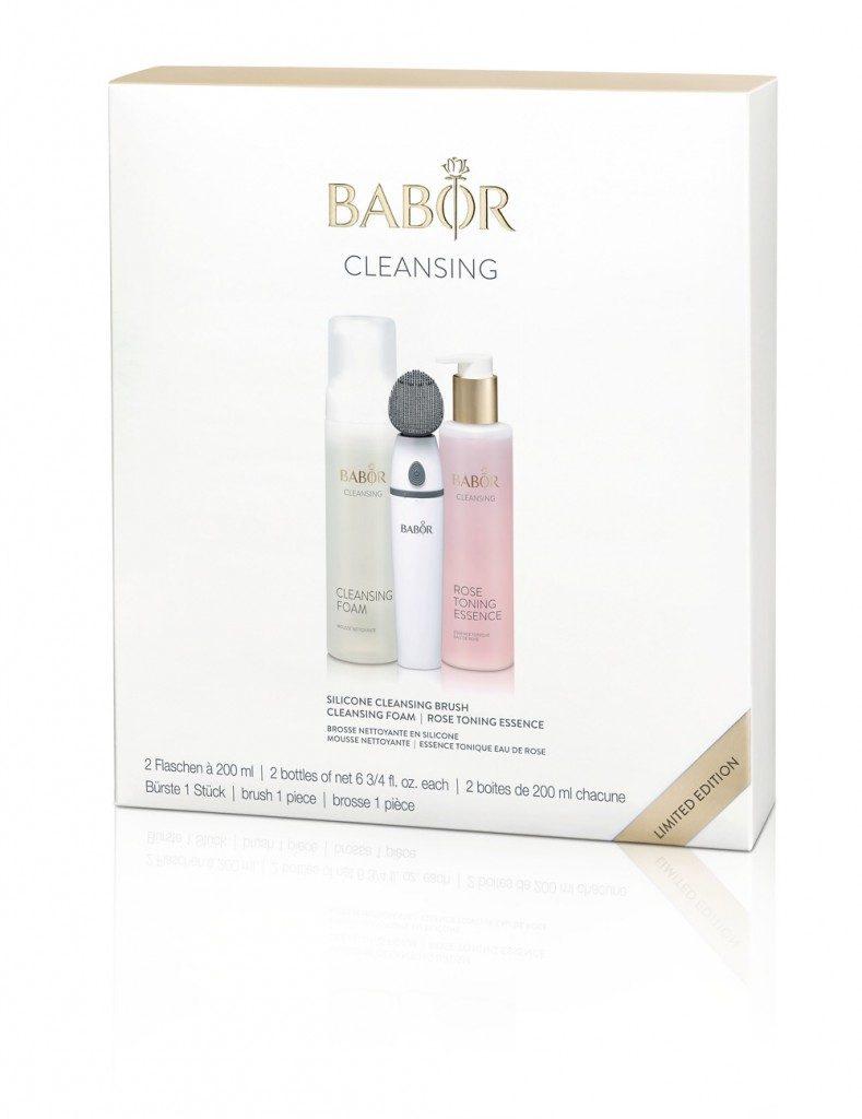 Babor Silicone Cleansing Brush Set