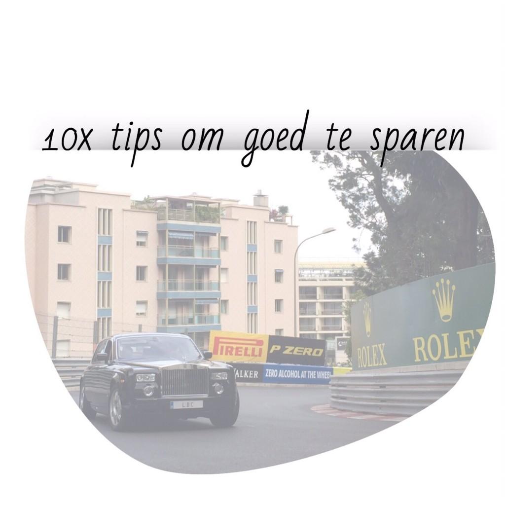 Tips om goed te sparen
