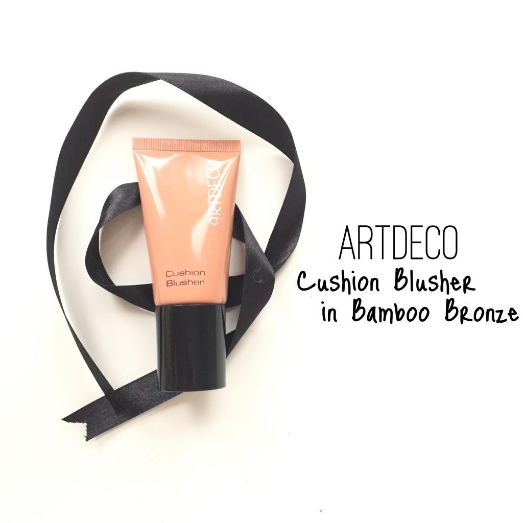 Artdeco Cushion Blusher in Bamboo Bronze