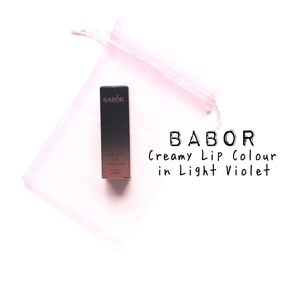 Babor Creamy Lip Colour in Light Violet