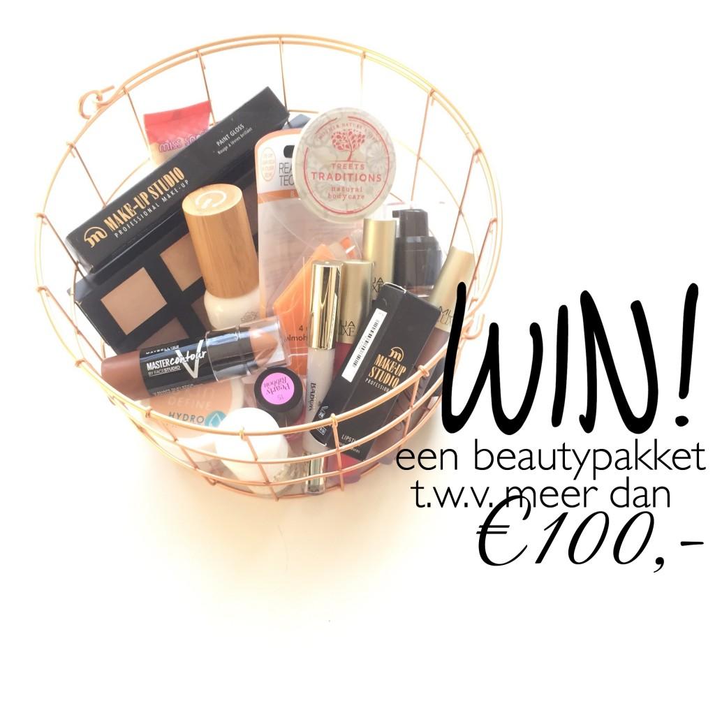 Win een Beautypakket t.w.v. meer dan € 100,-