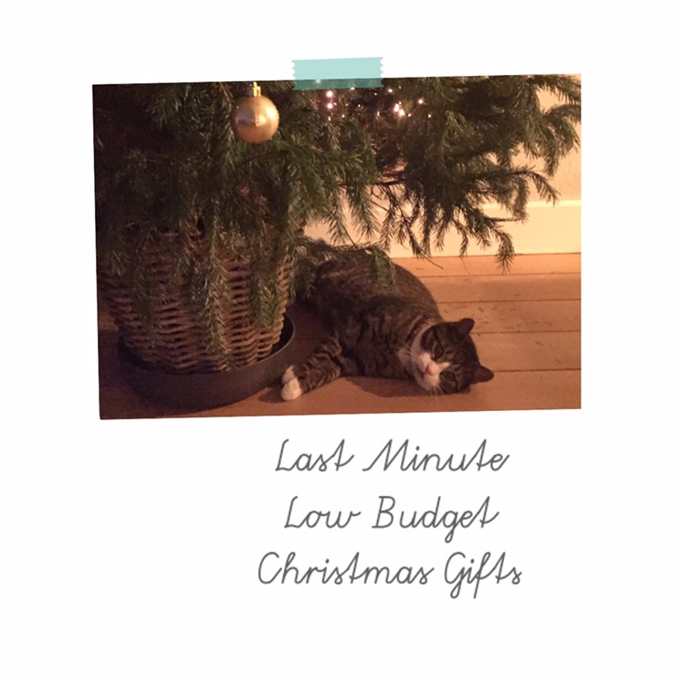 Last Minute Low Budget Christmas Gifts