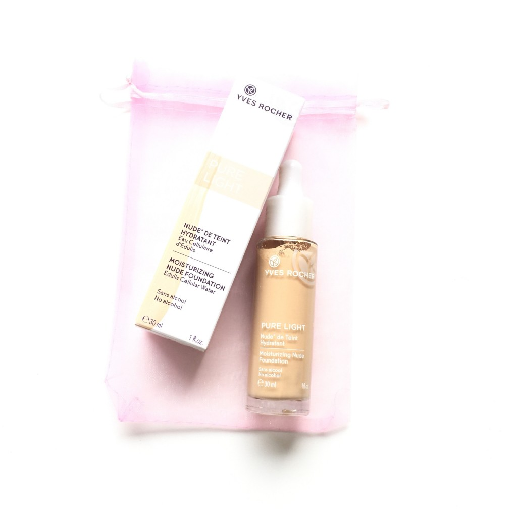 Yves Rocher Pure Light Foundation in Beige 100