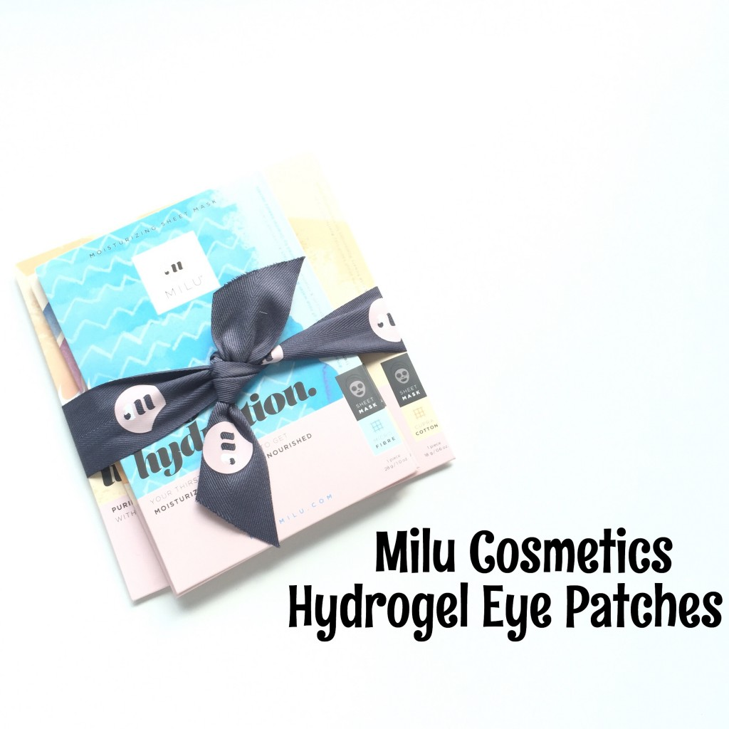 Milu Hydrogel Eye Patches