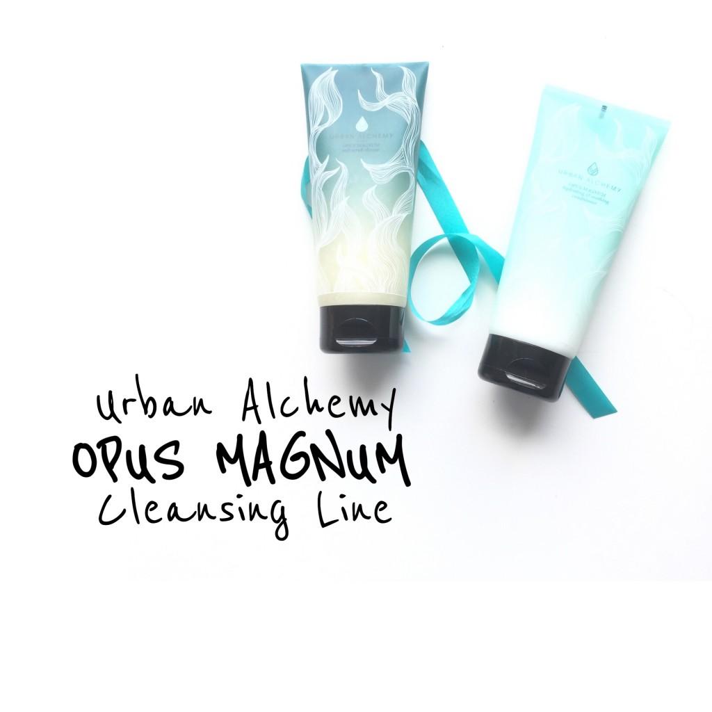 Urban Alchemy OPUS MAGNUM Cleansing Line