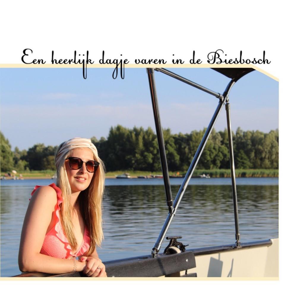 Een heerlijk dagje varen in de Biesbosch