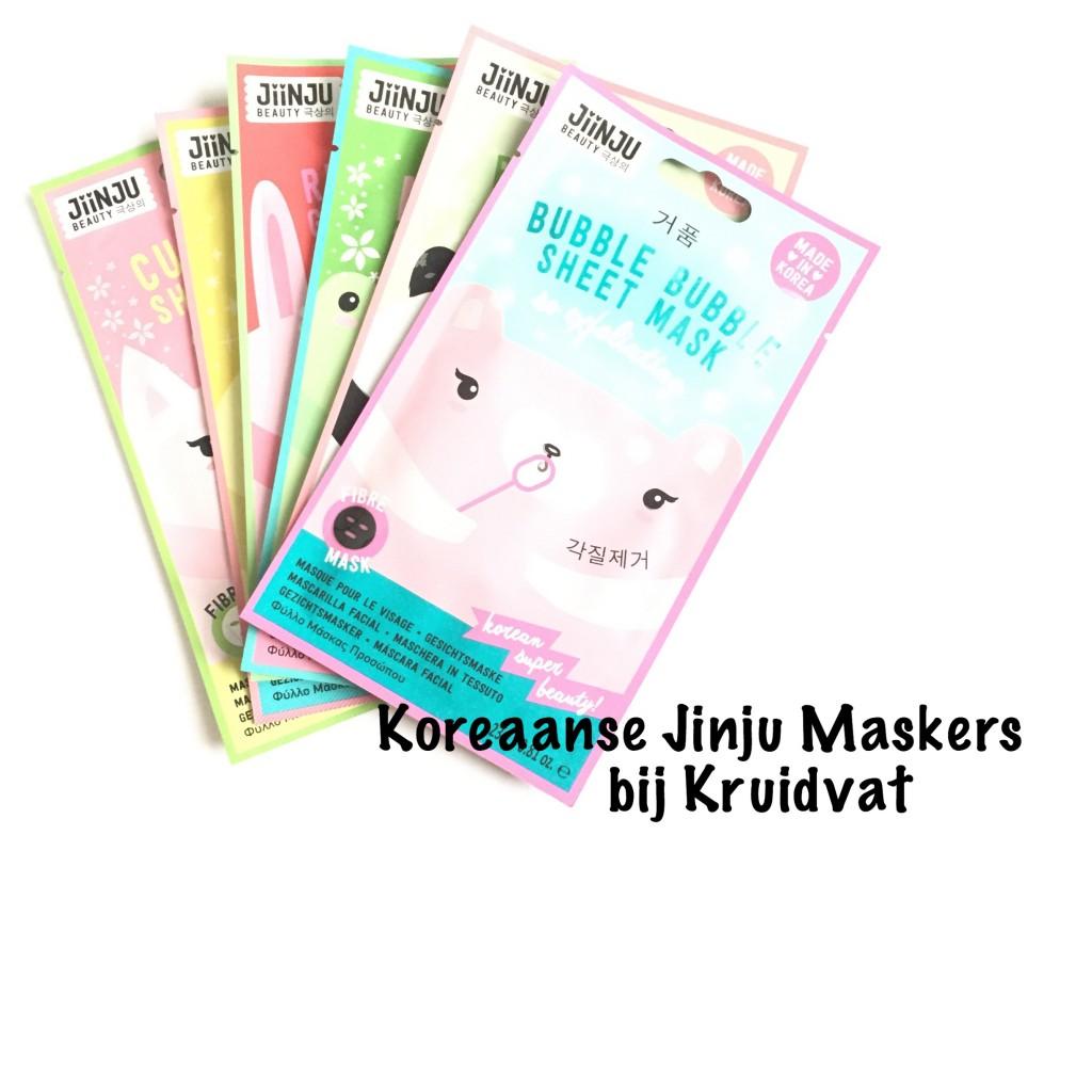 Koreaanse Jinju Maskers bij Kruidvat