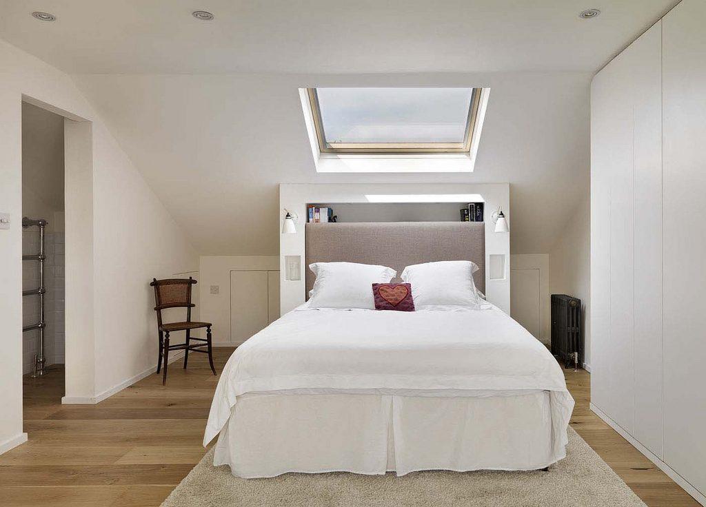 Maak van je zolder een romantische slaapkamer