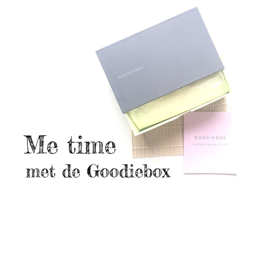 Me Time met de Goodiebox