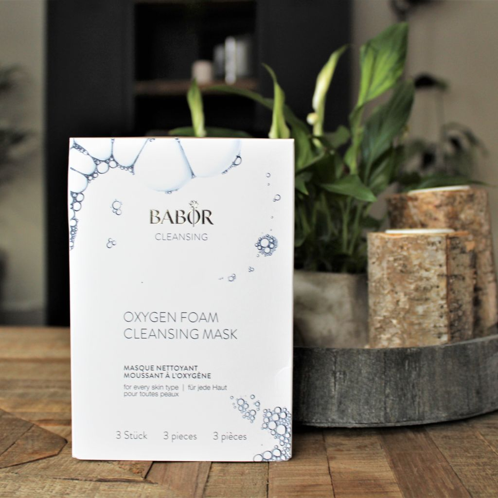 Babor Cleansing Oxygen Foam Cleansing Mask