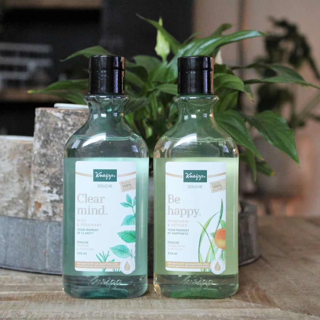 Kneipp doucheproducten 'Be Happy' & 'Clear Mind'