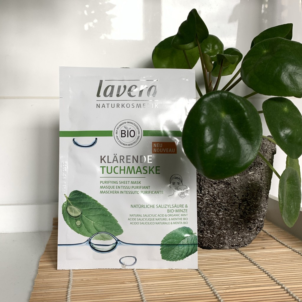 Lavera Purifying Sheet Mask