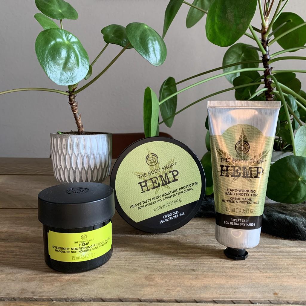 The Body Shop Hemp Collectie