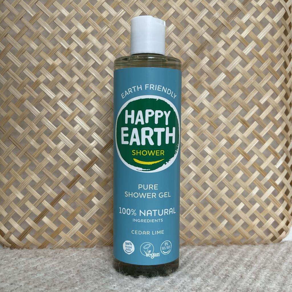 Happy Earth Pure Douchegel Cedar Lime