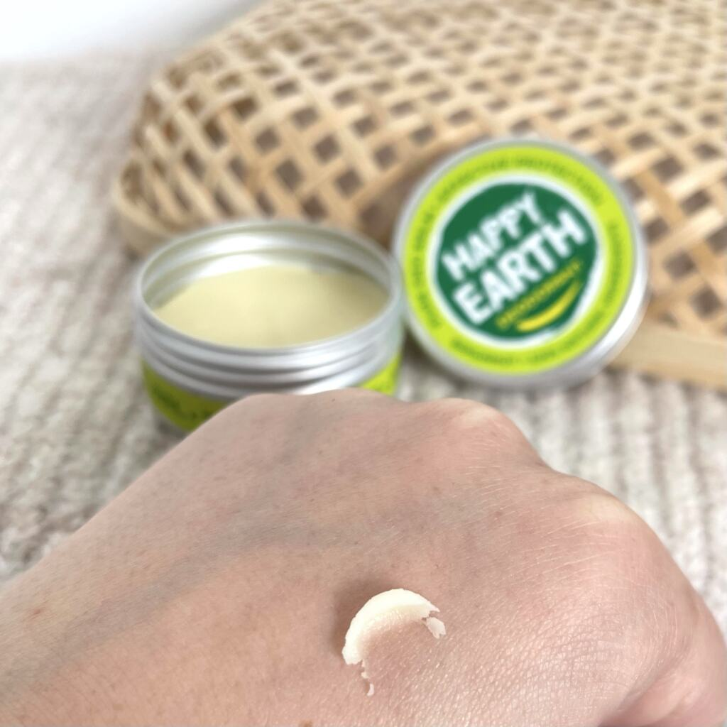 Happy Earth Deodorant Balm