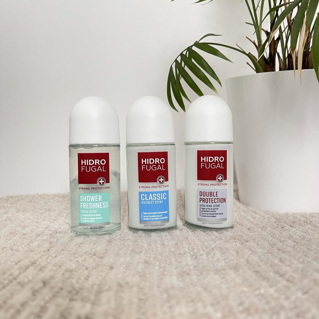 Hidrofugal deodorant