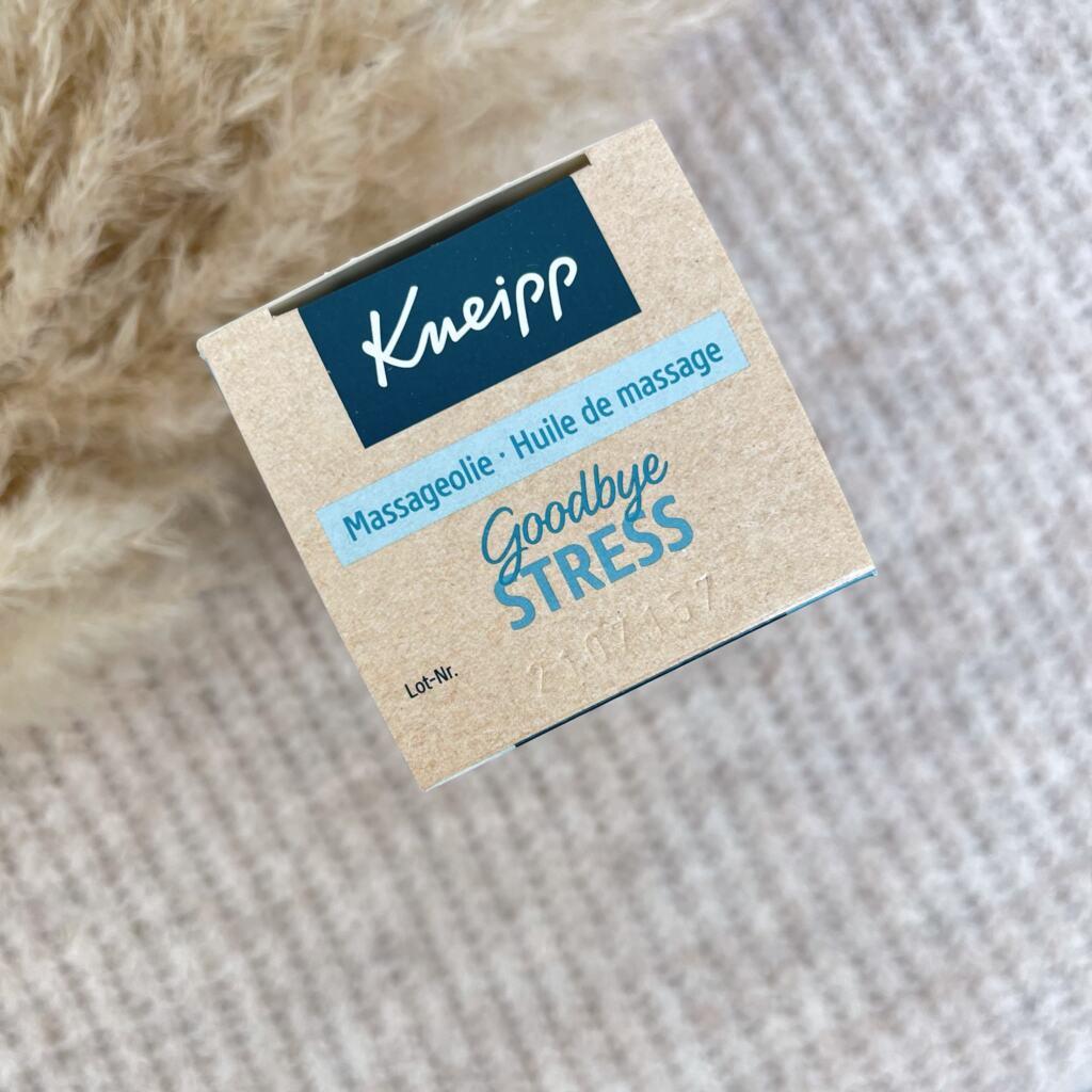 Kneipp Goodbye Stress Massageolie
