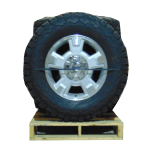 F150 Machined Silver Paint 5 Spoke 17 Inch a