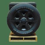 2009 2019 Dodge Ram 2500 Black 6 spoke 20 inch a