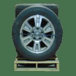Tundra Machined Gray 6 Spoke 20 inch a