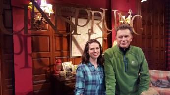 Lindsey and Chris