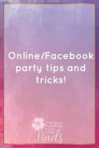 online facebook party direct sales