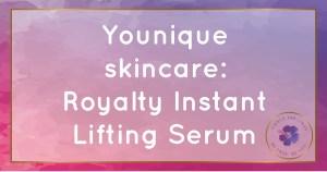 younique skincare instant lifting serum