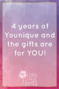 Younique anniversary kudos