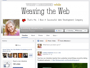Setting Up a Website and Facebook Yourself