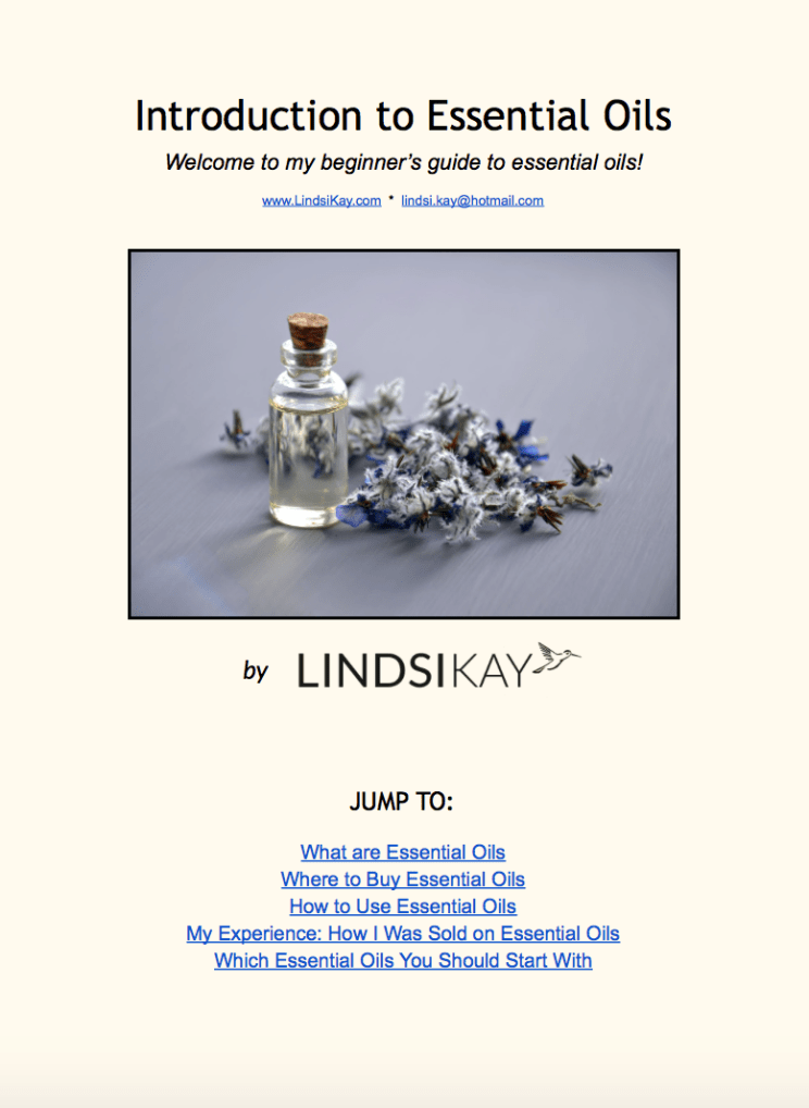 Lindsi Kay - Essential Oils For Beginners