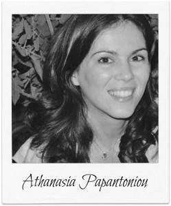 Athanasia PapantoniouBLOG PIC