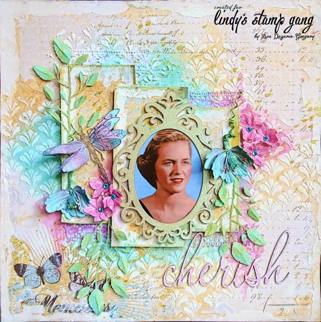 Lisa gregory  Lindy's may color challenge 1