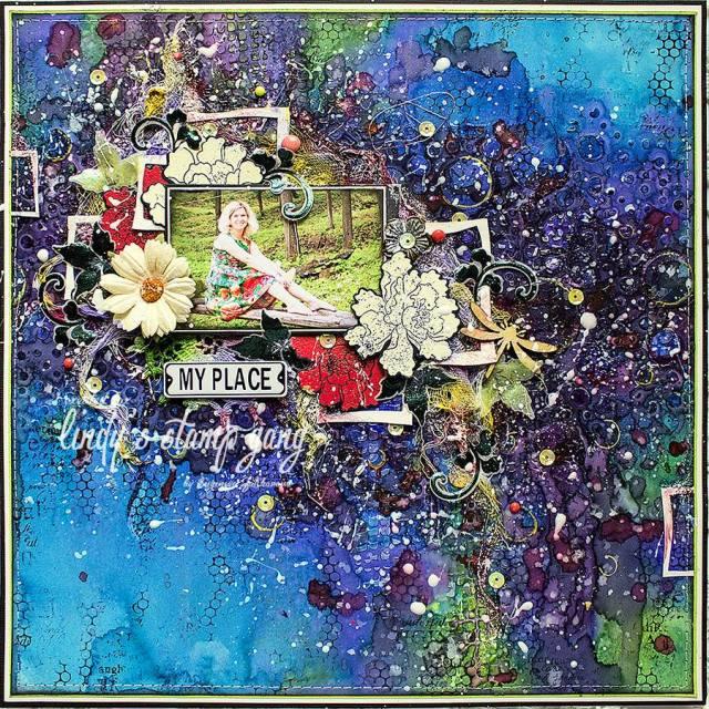 Evegeniya Lindys Aug color challenge