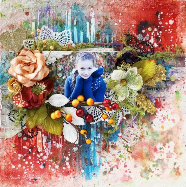 Irina Lindys aug color challenge