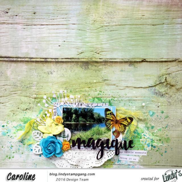 lindys august color challenge- caroline