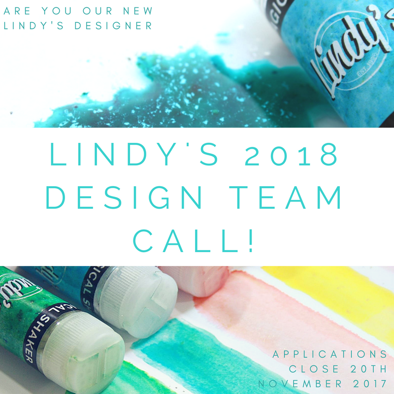 Lindy's 2018 Design Team Call