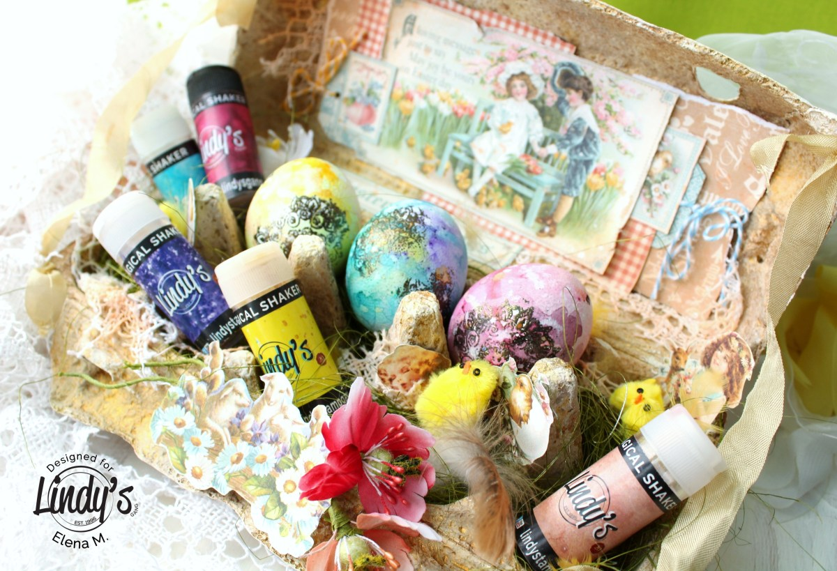 Easter Eggs Box by Elena