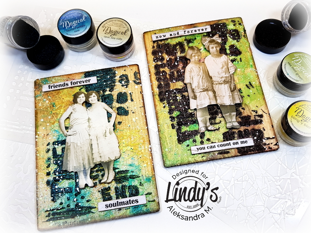 Day One Stencil Girl and Lindy's Blog Hop