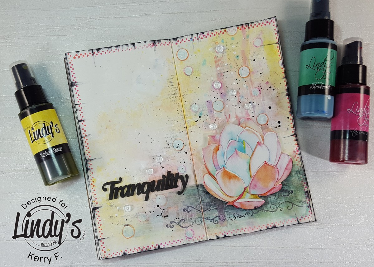 Tranquility - A Journal Page with Kerry