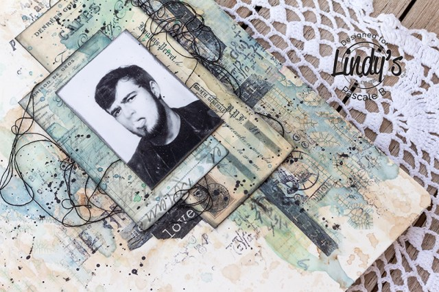 Art Journal Page by Pascale