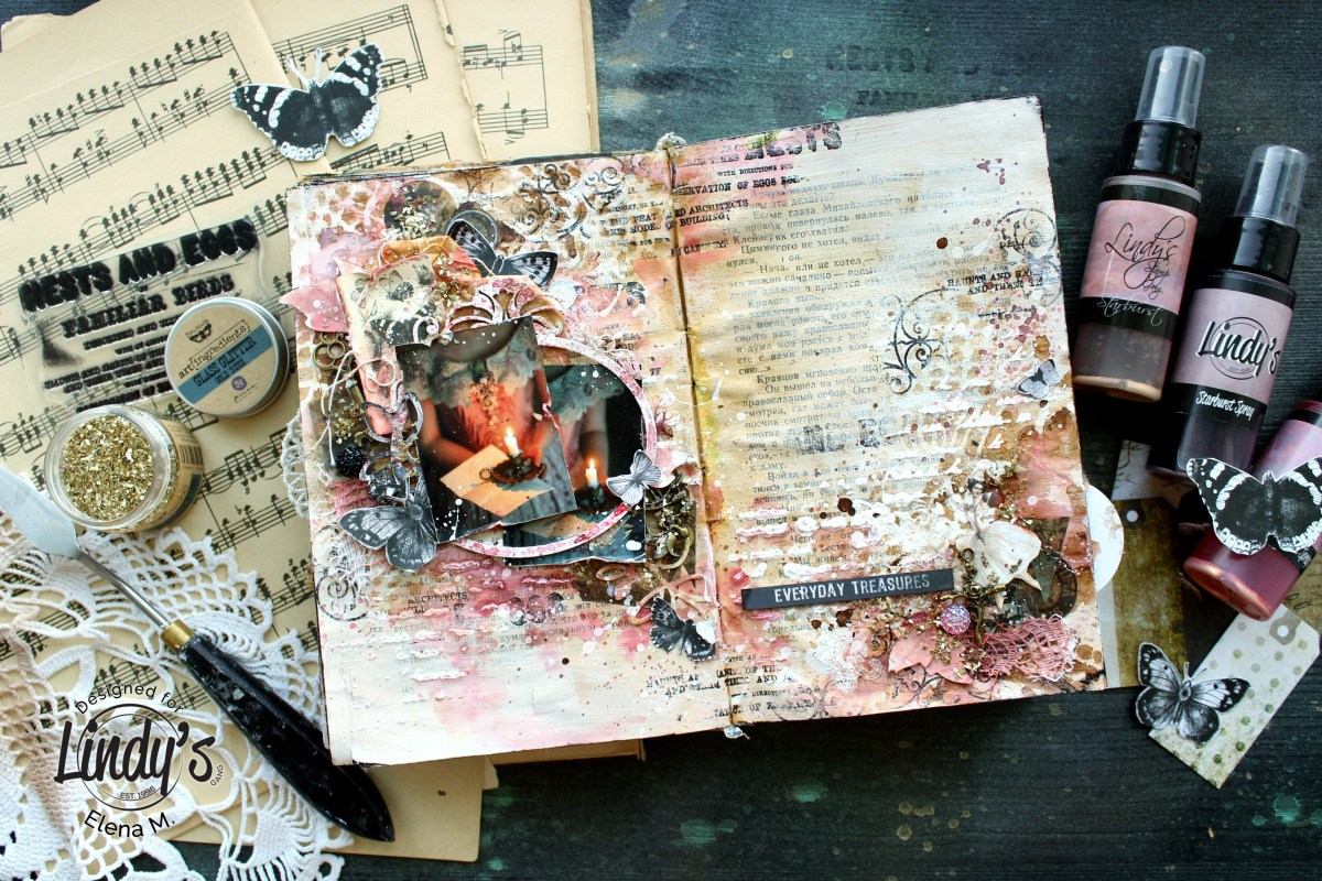 Art Journal Everyday Treasures by Elena Martynova