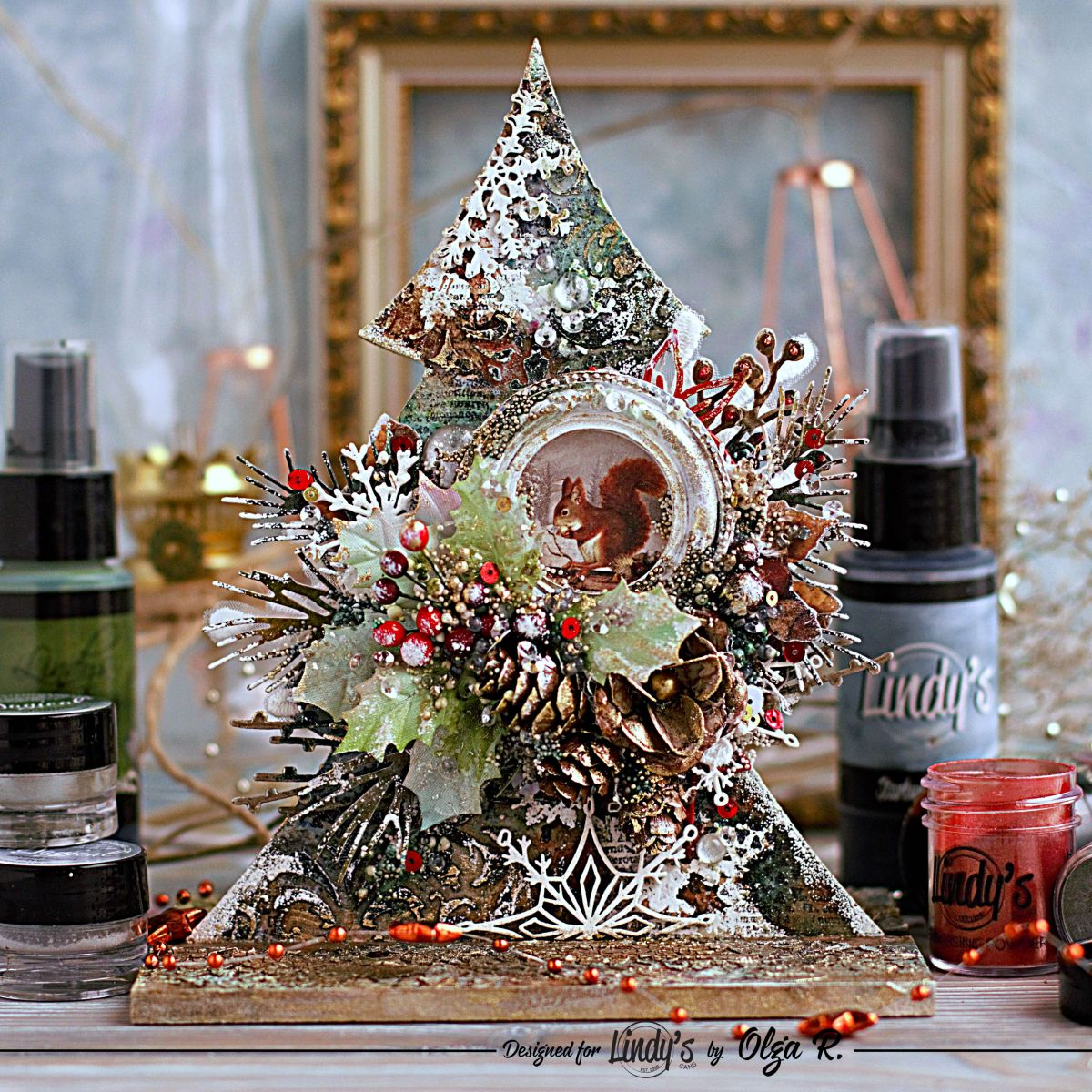Pine Tree Decor with Olga Ravenskaya