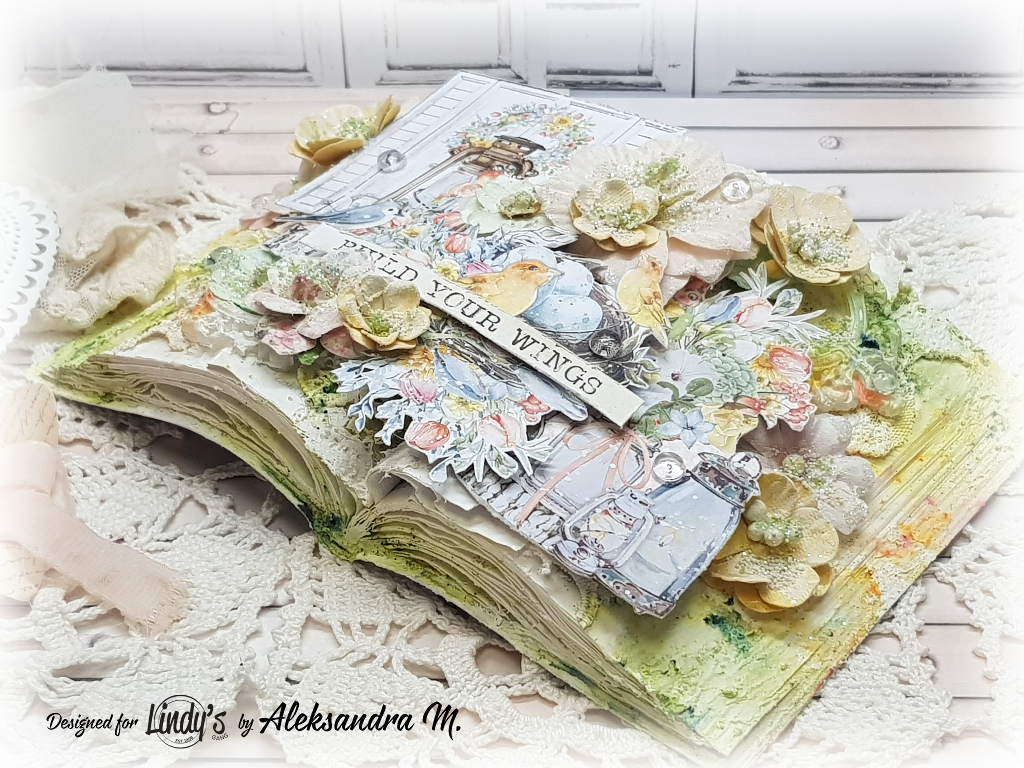Altered Spring Book with Aleksandra