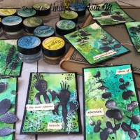 How to use Magicals and Shakers to create a Set of ATCs with Asia